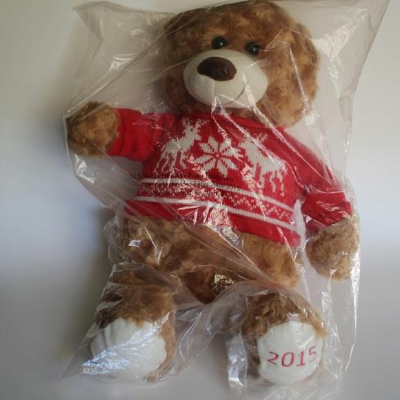 Avon Christmas Plush 2020 Avon Holiday | Christmas Plush Teddy Bear 2015 | Poshmark